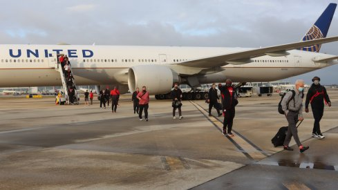 Ohio State arrives at the Sugar Bowl