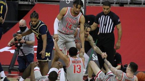 Ohio State fell to Michigan, 92-87