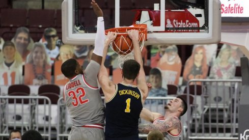 Hunter Dickinson was just the latest in a long line of opposing big men to dominate on the block against the Buckeyes.