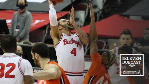 Ohio State men's basketball player Duane Washington, Jr.