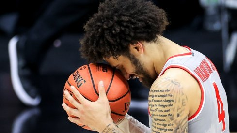 Duane Washington led Ohio State with 16.4 points per game in 2020-21.