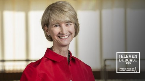 Ohio State president Dr. Kristina M. Johnson