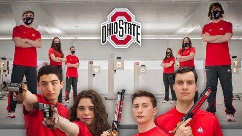 Ohio State pistol team