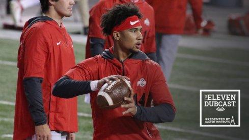 Ohio State quarterback C.J. Stroud