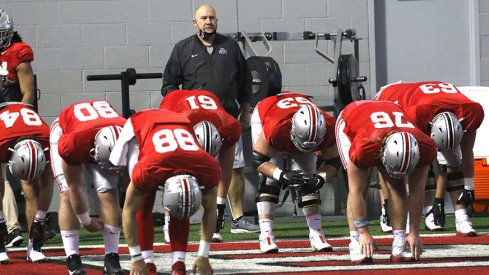 Greg Studrawa will still have some options at offensive tackle.
