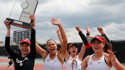 Ohio State women's tennis captures 2021 Big Ten championship