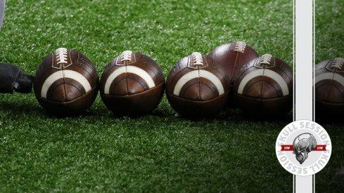 We've got some footballs in today's skull session.