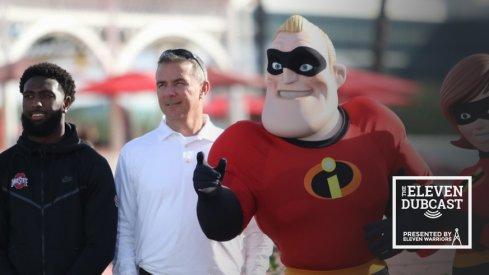 Ohio State head coach Mr. Incredible
