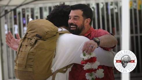 Ryan Day embraces his next commit in today's skull session.
