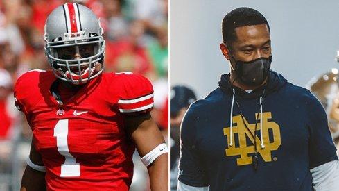 Marcus Freeman is now leading Notre Dame's defense.