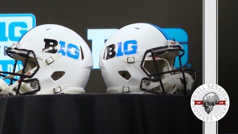 The Big Ten is representing in today's skull session.