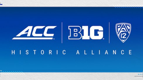 ACC, Big Ten and Pac-12 alliance graphic