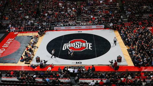 Ohio State Wrestling In The Schott