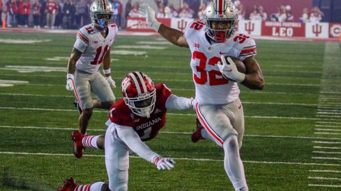 TreVeyon Henderson was setup for another big night in Bloomington last Saturday