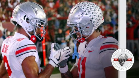 The Ohio State offense is a party in today's skull session.