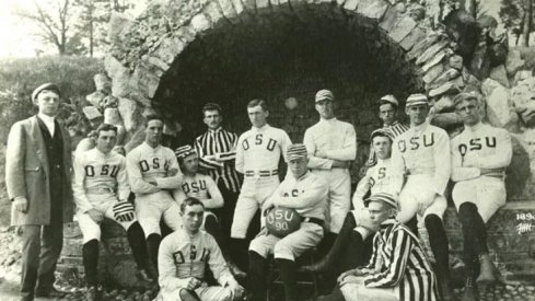 First Ohio State Football team, 1890 [Ohio State Archives]