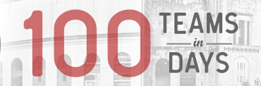 100 Teams in 100 Days