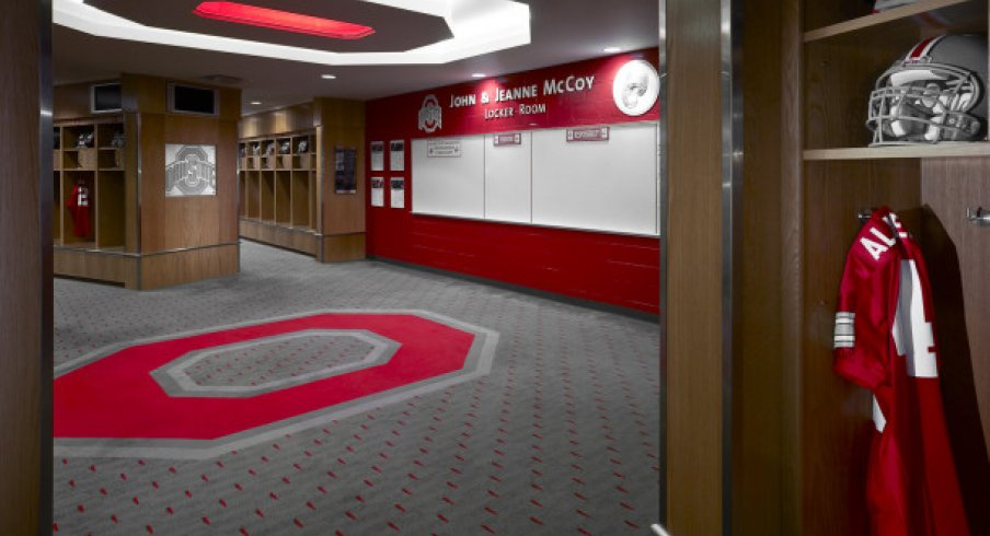 A Look at Ohio State's $20 Million Locker Room | Eleven ...