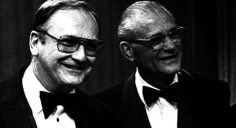 Bo Schembechler & Woody Hayes all fancy
