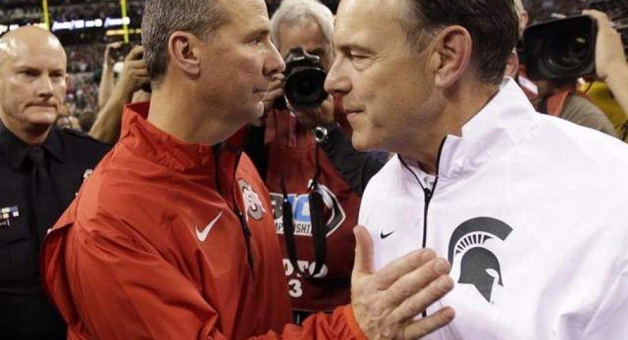Meyer, Dantonio recruiting well.