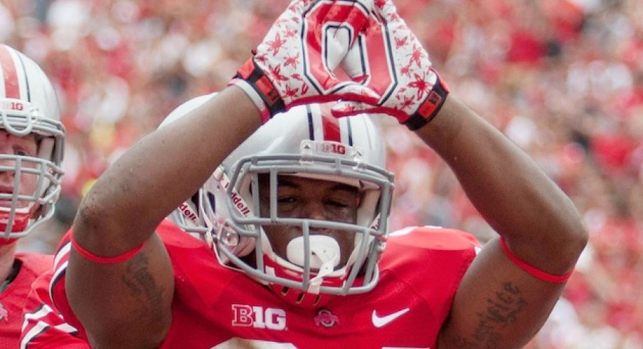 Carlos Hyde hopes to give his alma mater a productive back at the next level.