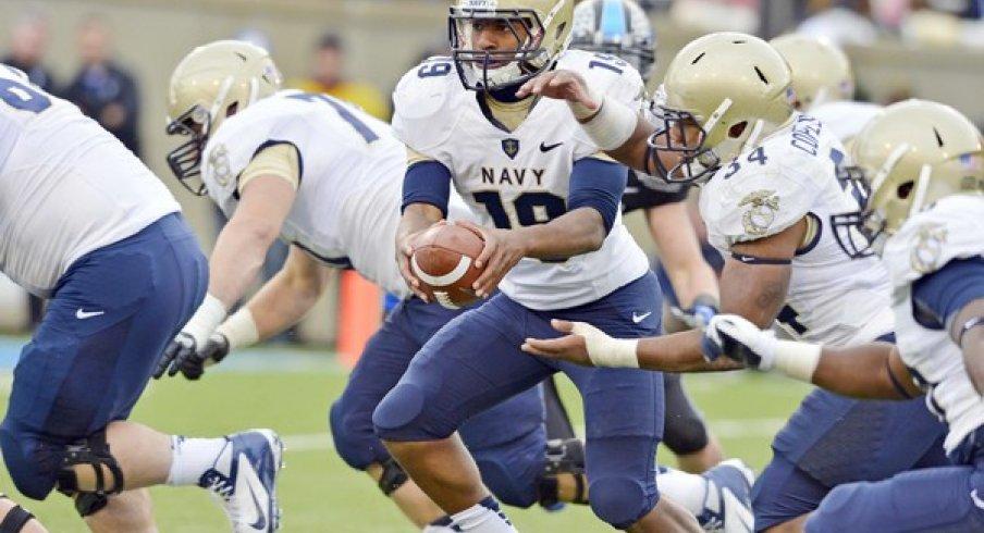 Keenan Reynolds headlines a devastating Navy rushing attack