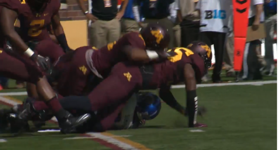 Minnesota flattened San Jose State on Saturday. Give the 4-0 Gophers some love.