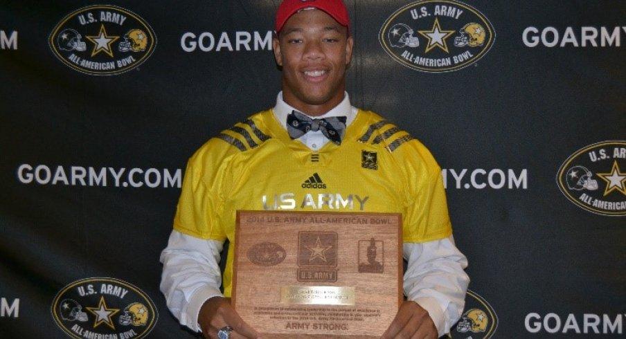 Demetrius Knox' US Army All-American Bowl selection.