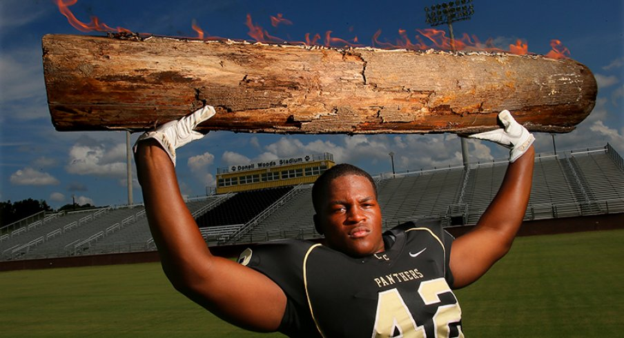Raekwon McMillan wants a log. You're gonna love it, log.