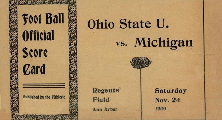 Ohio State U. vs. Michigan, 1900 via The Ohio State Archives