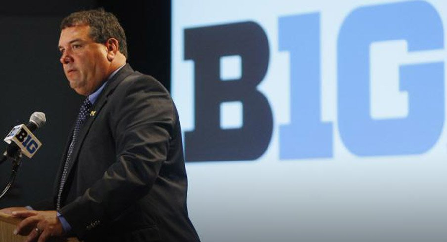 Brady Hoke was asked about Detroit's plight at Big Ten Media Days last year.