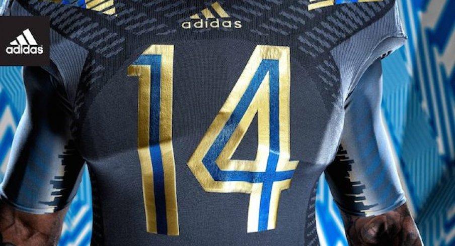 sports shoes a9c57 b44cb UCLA, ADIDAS Unveil