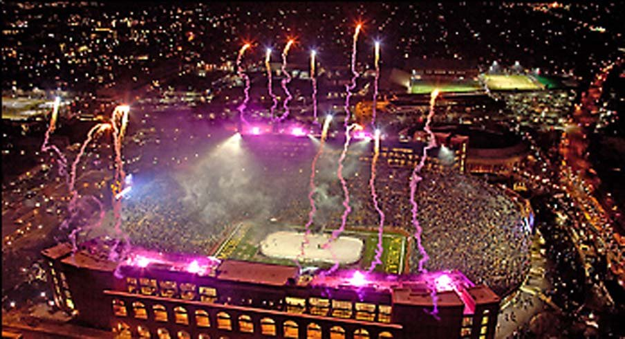 Fireworks at Michigan Stadium? The university's regents said no thank you.