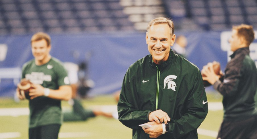 Mark Dantonio has Michigan State thinking big things in 2014.