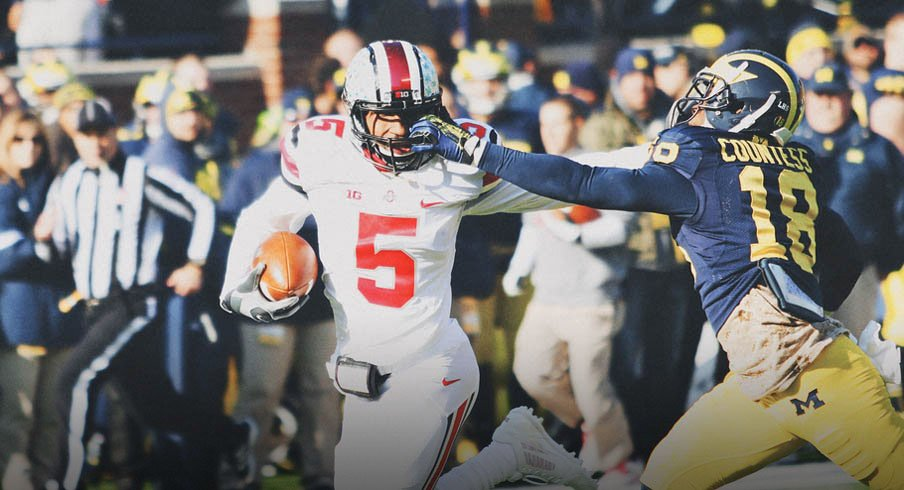 Braxton Miller got free against Michigan