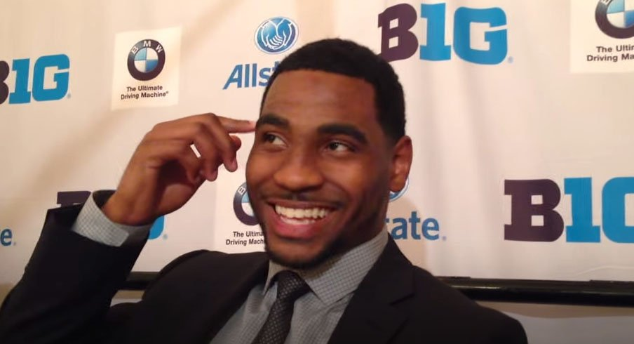 Braxton Miller's laugh said it all.