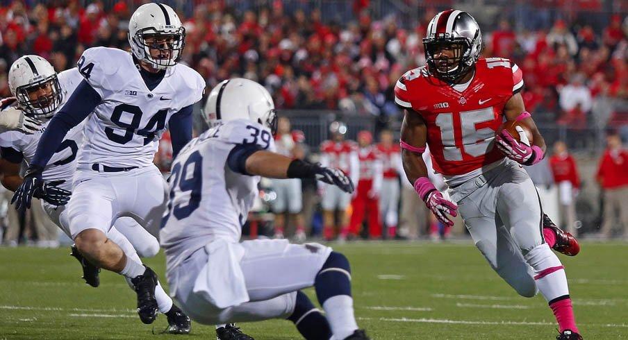 Ezekiel Elliott runs wild on Penn State.