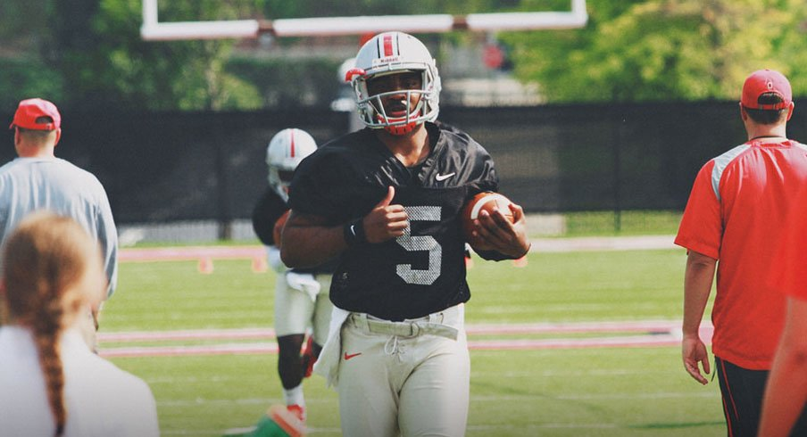 Braxton Miller is down to one more season at Ohio State.