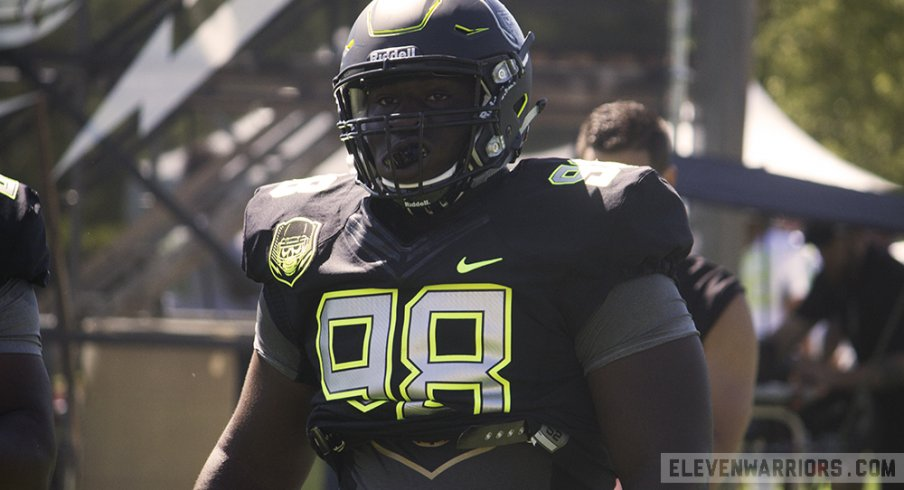 Neville Gallimore at Nike's The Opening