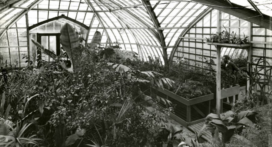 Botany Building Greenhouse, 1900 [OSU Archives]