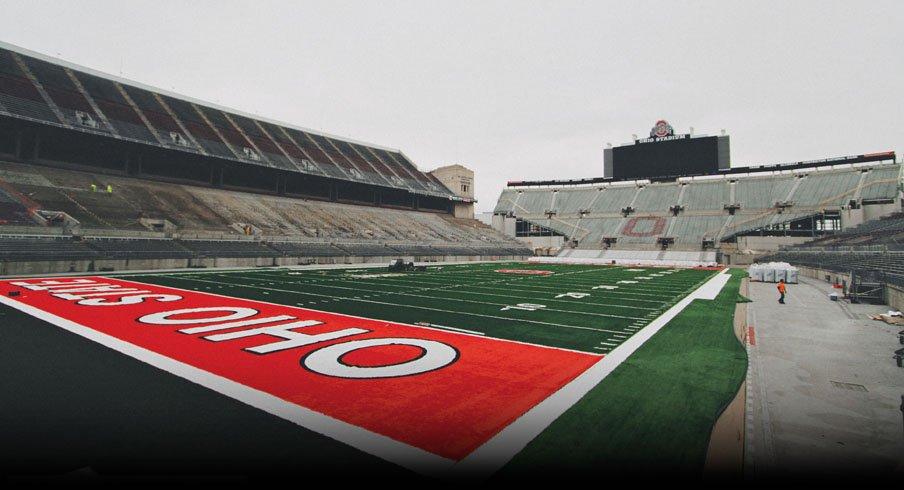 With new seats, Ohio Stadium's capacity climbs to 104,944.