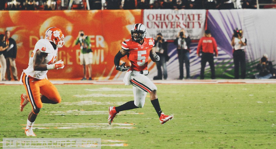 Braxton Miller in the 2014 Orange Bowl