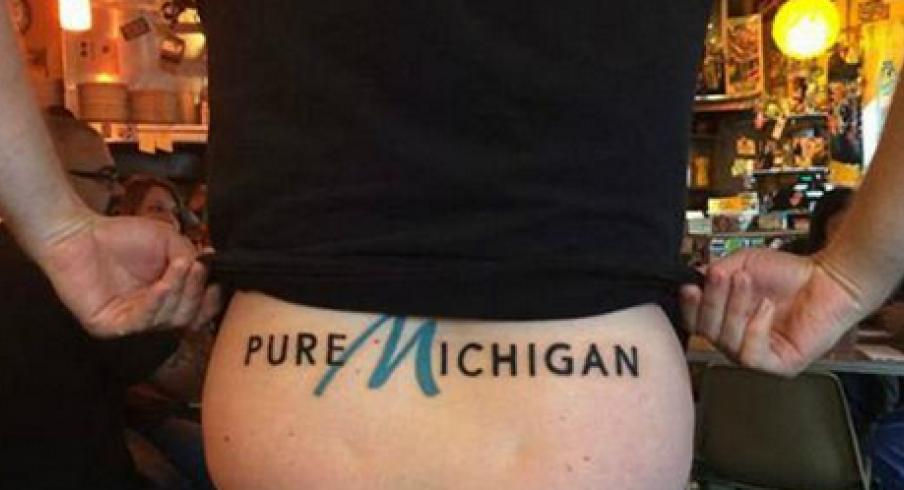Pure Michigan Tramp Stamp