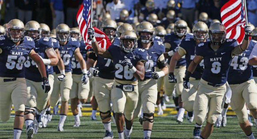 Navy's 3-4 difference will challenge the Ohio State offense Saturday.