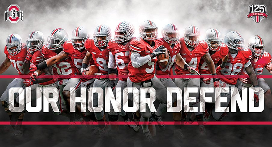 Download the official Ohio State Football 2014 schedule poster.