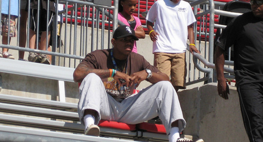 Terrelle Pryor in 2009; released by Seahawks in 2014