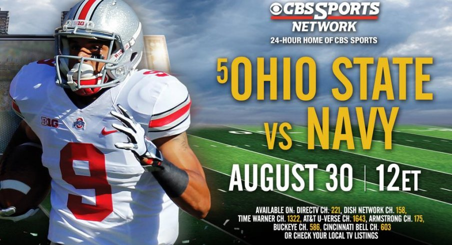 A guide to catching the Ohio State–Navy football game on Ohio cable networks.