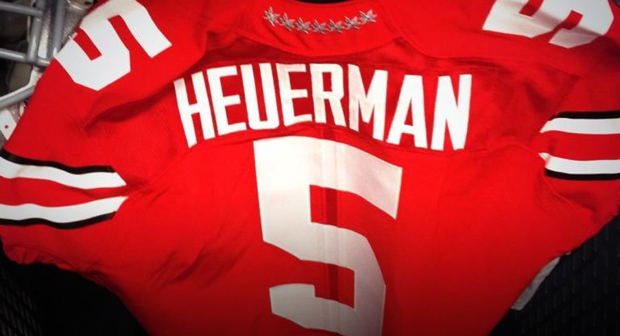 official photos 970b4 ff91d Jeff Heuerman Will Wear No. 5 to Honor Braxton Miller Today ...