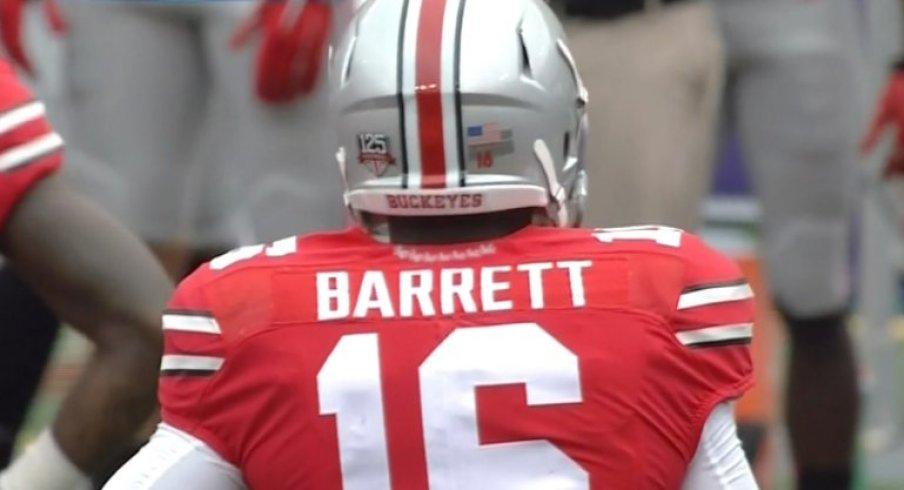Barrett became just the 2nd Buckeye QB since 1950 to start a season opener.