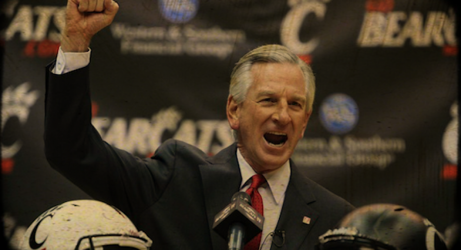 Tommy Tuberville, new UC coach